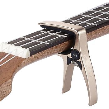Blue Eno Mini Ukulele Capo Concert Capo for Acoustic Guitar