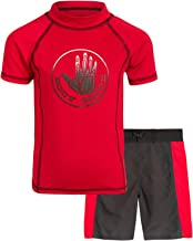 Body Glove Little Boys 2-Piece UPF 50+ Rash Guard Swimsuit Set (2 Piece)