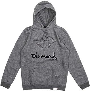 Diamond Supply Co OG Sign Core Hoodie Gunmetal