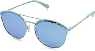 Polaroid Sunglasses For Women, Blue PLD 4057/S 6LB 605X 60 mm