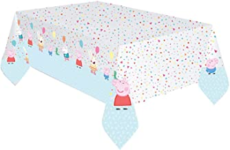 Amscan 9906334 - Peppa Pig Plastic Table Cover -1.8m