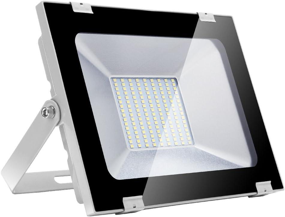 JTENGYAO 100W LED Floodlight 8000 Bargain NEW before selling ☆ Cool 6000K-6500K White Lumens
