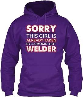 teespring Men's Sorry This Girl is. - Sweatshirt - Gildan 8Oz Heavy Blend Hoodie