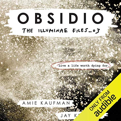 Obsidio audiobook cover art