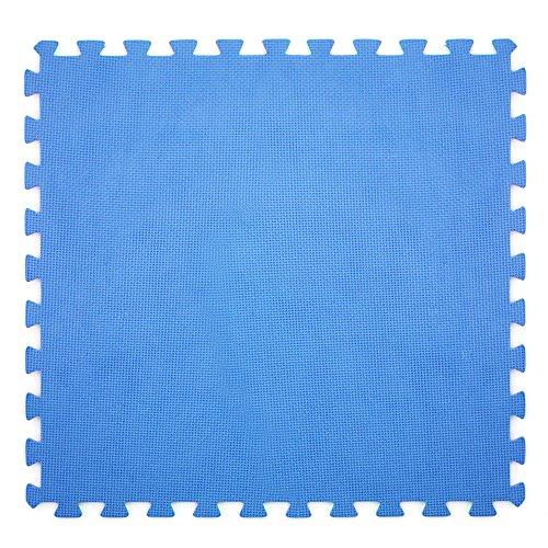 6x Badematte blau 60x 60cm für Boden eines Pools, Schutzfunktion, rutschfest, 43871.
