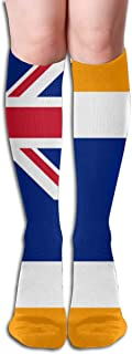 Union Of South Africa Flag Ski Socks for Skiing, Snowboarding, Cold Weather, Winter Performance Socks