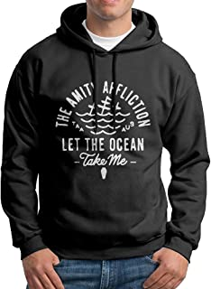 PTR Men's Sweatshirt - The Amity Affliction Let The Ocean Black