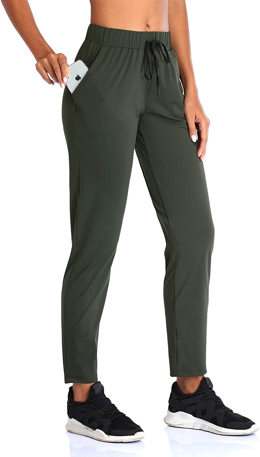 SEVEGO Women's Joggers SEAL limited product with Pockets Workout Drawstring Lounge Yo discount