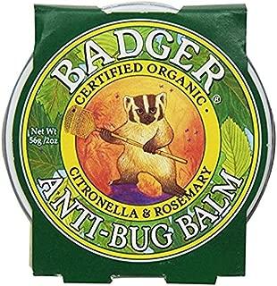 Badger Anti-Bug Balm, Citronella & Rosemary - 2 oz