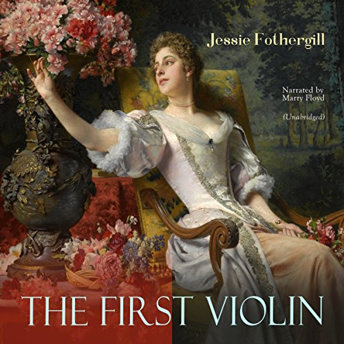 The First Violin audiobook cover art