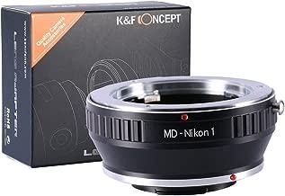 【正規代理店】K&F ミノルタ MDレンズ-ニコン1 マウントアダプター レンズクロス付 md-n1 (KFN1)