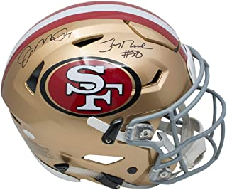 joe montana signed helmet