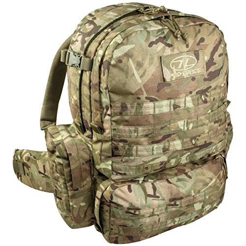 Highlander Unisex– Erwachsene M.50 Pack Rucksack, Camouflage, 50 L