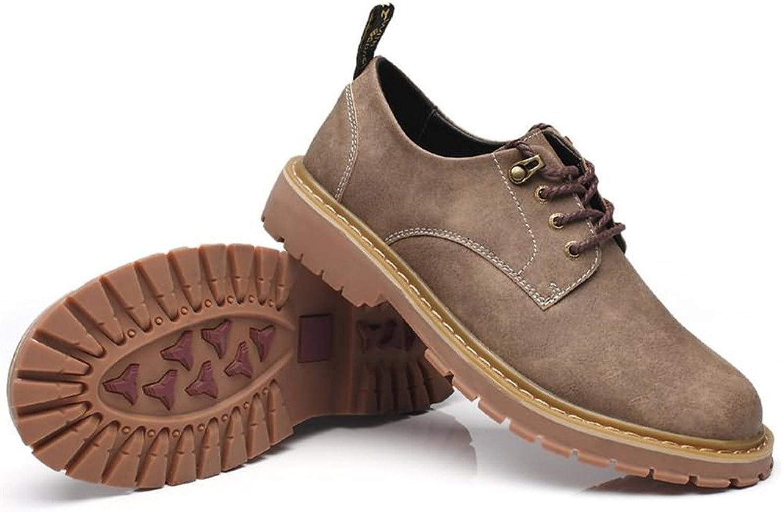 FeiNianJSh Herren Schnürschuhe Everyday Oxfords Loafer Flache Fersenschuhe Einfarbig Schuhe    Erste Klasse in seiner Klasse