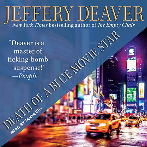 Death of a Blue Movie Star audiobook cover art