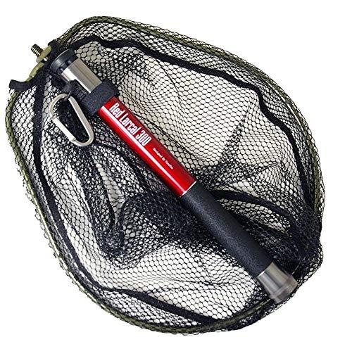 ランディングシャフト & ネットセット Red Larcal(レッドラーカル) 300 + ランディングネットS 黒(オーバールフレーム) (190141-bk)