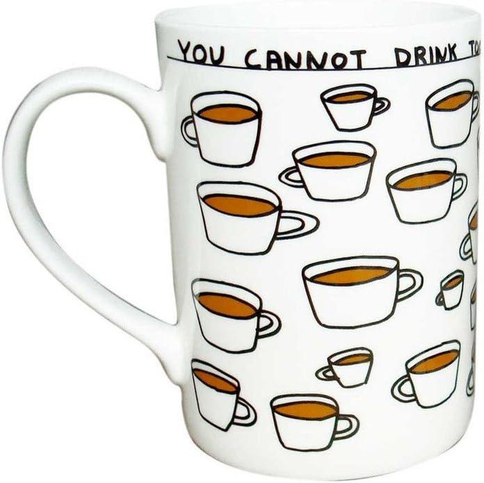 David Shrigley Mug Cup Tea Coffee Funny Comedy Humour Amusing Gift Present Joke