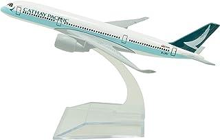 TANG DYNASTY 1/400 16cm キャセイパシフィック航空 Cathay Pacific Airways エアバス A350 高品質合金飛行機プレーン模型 おもちゃ