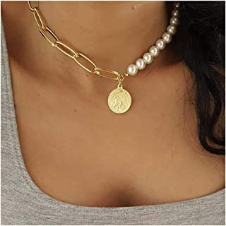Artio Pearl Choker Necklace Jewelry for Women and Girls NK0108