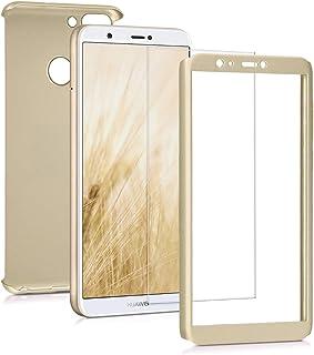 f8317c4f68f kwmobile Funda para Huawei Enjoy 7S / P Smart - Carcasa Protectora Completa  con [Cristal