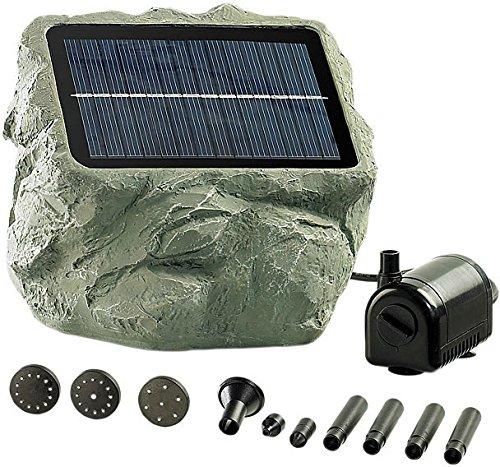Royal Gardineer Solar Teichpumpe: Solarbetriebene Teichpumpe Biosphere (Solarpumpen)