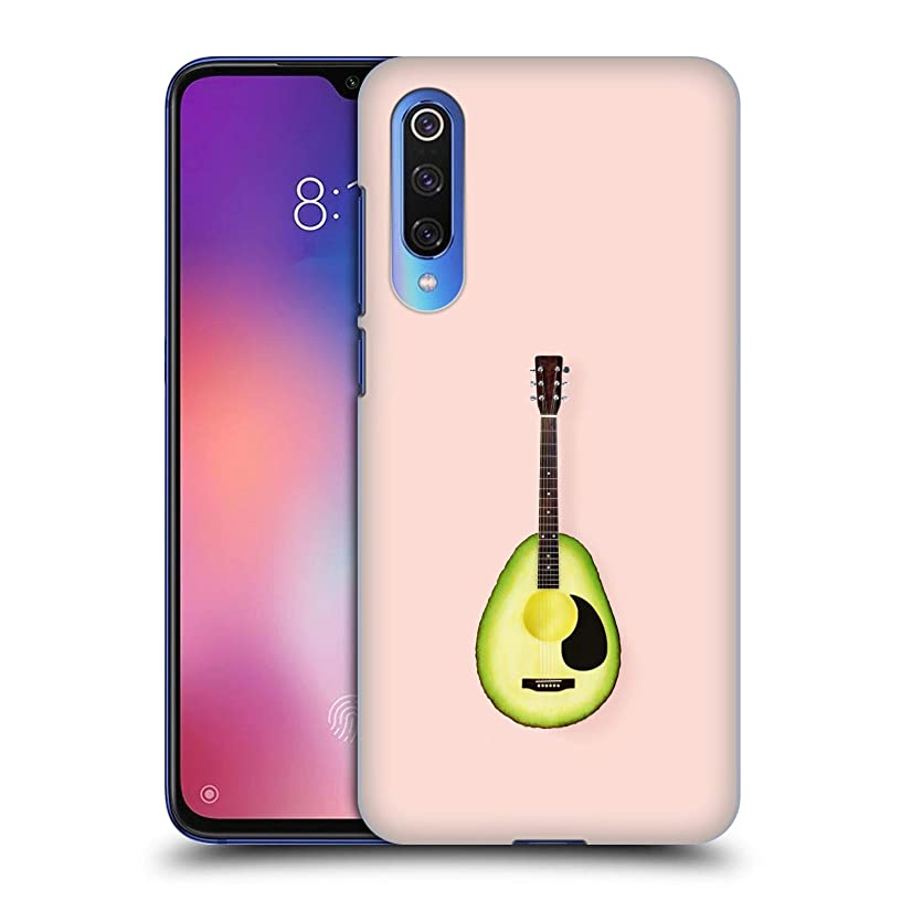 Official Paul Fuentes Avocado Guitar Pastels Hard Back Case Compatible for Xiaomi Mi 9 SE