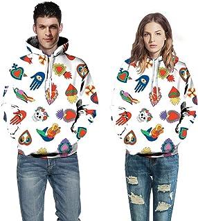 SDSCG Sweatshirt Felpa con Cappuccio Digitale Marvel Hoodie