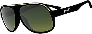 goodr Super Fly Sunglasses (no slip, no bounce, all polarized)