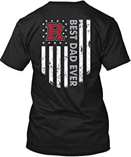 ROEBAGS Father's Day 2019 T Shirt, Rutgers Scarlet Knights Best Dad Ever T Shirt