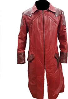 PRLWRS Devil May Cry Dante Cosplay Leather Coat