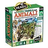 Headu-La Grande Tombola degli Animali Gioco Educativo, Multicolore, IT21512