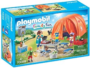 PLAYMOBIL Family Fun Tienda de Campaña, A partir de 4 años