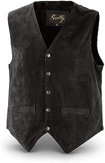 Scully Men's Cowhide Suede Vest