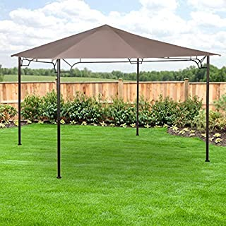 Garden Winds LCM1123 Ace Hardware Living Accents 10' Gazebo Replacement Canopy, Beige