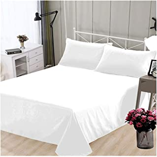 HGblossom Sábanas de Cama Gruesa Suave de 1 Pieza Varios tamaños Blanco 120 cm x 210 cm