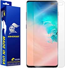 ArmorSuit MilitaryShield Screen Protector for Samsung Galaxy S10 Plus - [Max Coverage] Anti-Bubble HD Clear Film