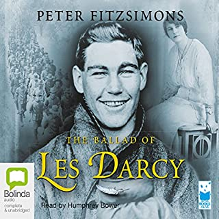The Ballad of Les Darcy cover art