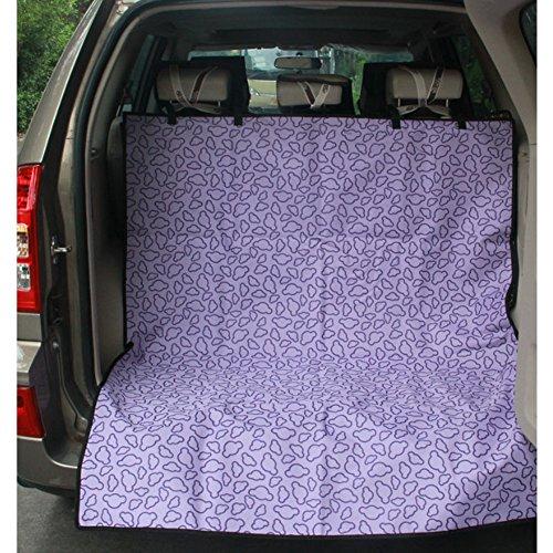 Seat étanche Car Cover Pet Dog Mat Voyage pour SUV Trunk, Nuage pourpre