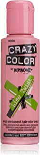 Crazy Color Renbow Semi-Permanent Hair Colour Cream Dye 100ml-Lime Twist