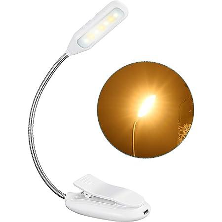 9 LEDs Buchlampe mit 3 Farbtemperatur E-Reader Leselampe Buch Klemme 360/° Flexibel Augenschutz Mini Dimmbare Klemmleuchte f/ür Arbeiten Zuhause STANBOW Touch Schalter Klemmlampe USB Wiederaufladbar