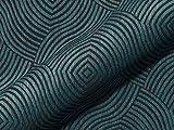 Möbelstoff AMSTERDAM Muster Abstrakt Farbe blau als