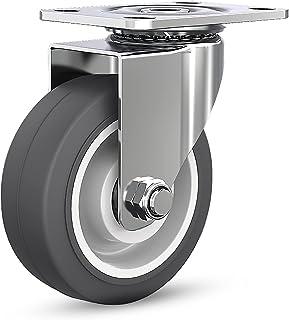 Zwenkwielen, Zwenkwielen voor zwenkwielen, Industriële Premium Heavy Duty zwenkwielen, Wielen van polyurethaanschuim Gelui...