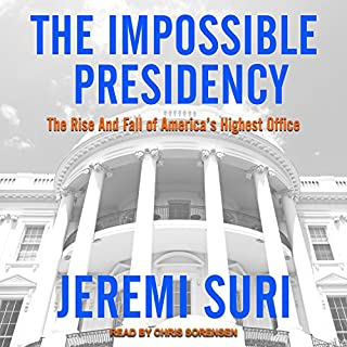 The Impossible Presidency audiobook cover art