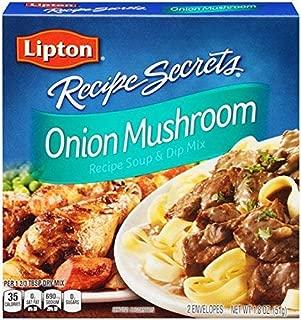Lipton Recipe Secrets Onion Mushroom Recipe Soup & Dip Mix 1.8oz, (6 Pack)