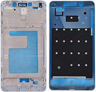 YuanGH YuanGH For Huawei Honor 6X / GR5 2017 Front Housing LCD Frame Bezel Plate(White) Repair Parts (Color : White)
