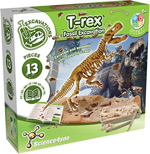 Science4you T-REX Fossil Juguete pedagógico y científico