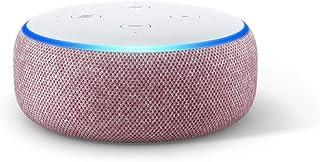 Echo Dot (3.ª generación) - Altavoz inteligente con Alexa tela de color malva