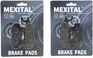 MEXITAL Pastiglie freno Semi-metallico Anteriori per YXR 700 F Rhino All Models 2008-2013