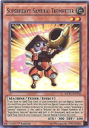 1st Edition MP15-EN199 Common 3x Superheavy Samurai Soulpiercer