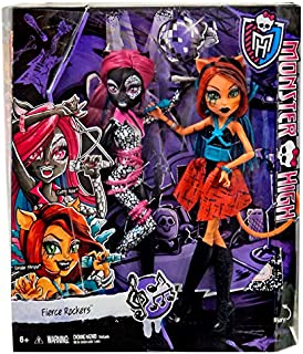 Monster High Fierce Rockers Catty Noir and Toralei Exclusive 2-pac